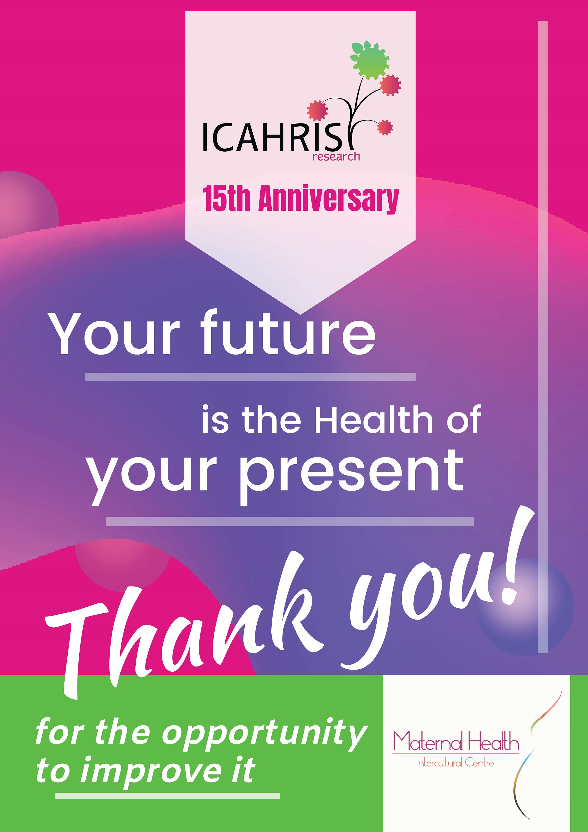 ICAHRIS 15th Anniversary